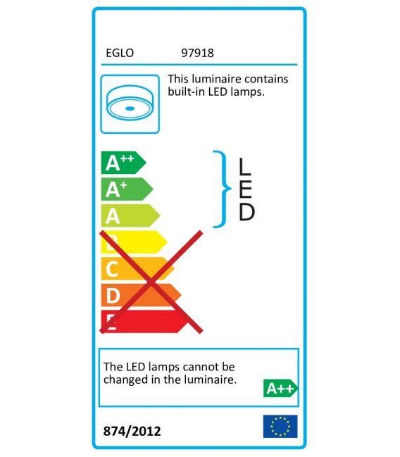 34W Lubinis šviestuvas EGLO CONNECT TOTARI-C Ø58 97918