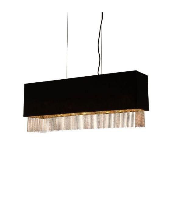 Pakabinamas šviestuvas FRINGE 4LT 8724-4BK