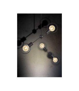 Sieninis šviestuvas KOSMOS Black 31567
