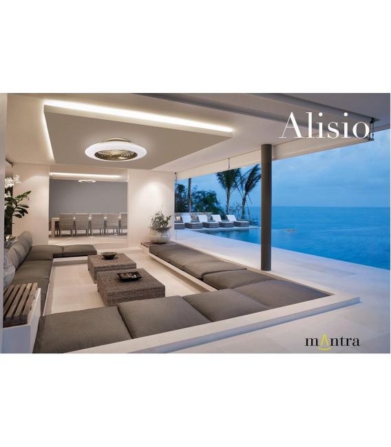 70W LED Šviestuvas su ventiliatoriumi ALISIO Gold Dimeriuojamas 6707