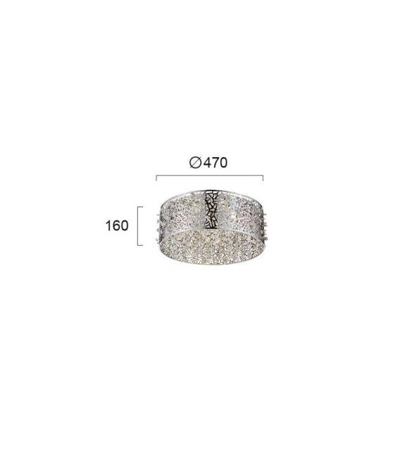 25W LED Lubinis šviestuvas SPARKLES 4202000
