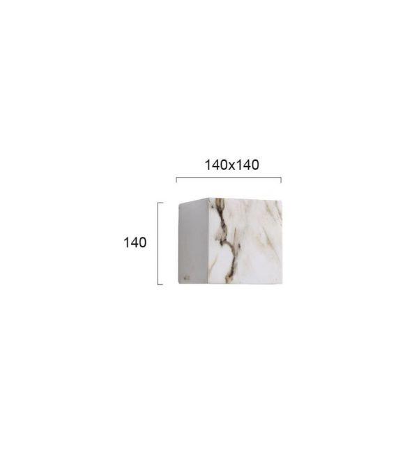 5W LED Sieninis šviestuvas DAVOS White IP65 4202800