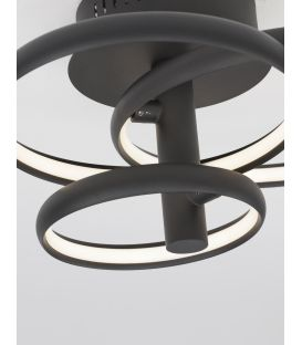 30W LED Lubinis šviestuvas EMIL Black 9349063