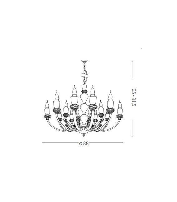 Pakabinamas šviestuvas VANITY SP15 206639
