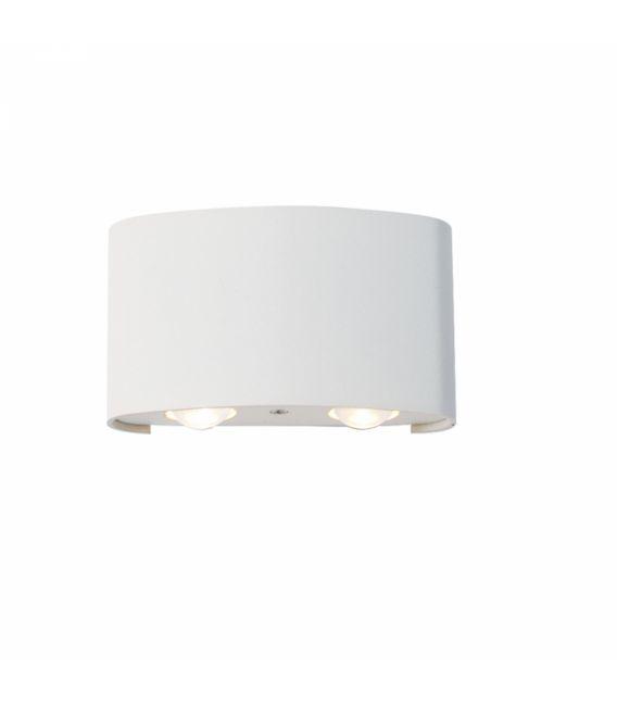 4W LED Sieninis šviestuvas TWIST White IP54 4211000