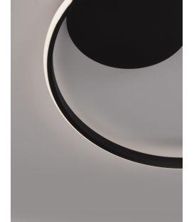 32W LED Lubinis šviestuvas DARWIN Black Dimeriuojamas 9348073