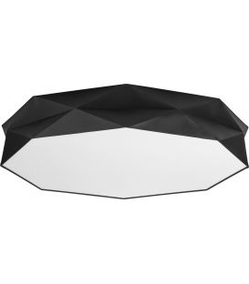 Lubinis šviestuvas KANTOOR  Black Ø88 4223