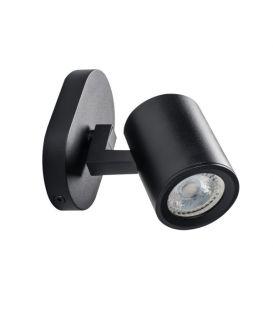 Sieninis šviestuvas LAURIN Black 29121
