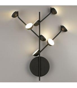 24W LED Sieninis šviestuvas ADN Black 6419