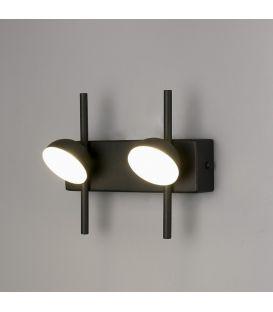 6W LED Sieninis šviestuvas ADN Black 6420
