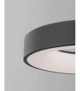 50W LED Pakabinamas šviestuvas LAND Black Ø60 Dimeriuojamas 9453453