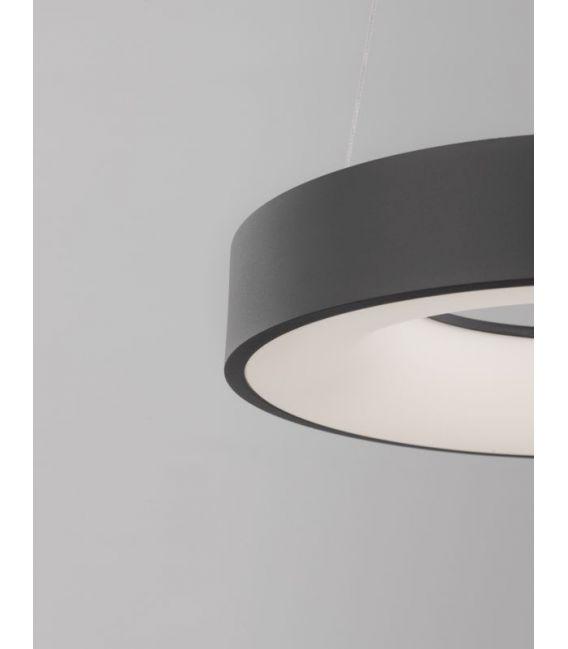 30W LED Pakabinamas šviestuvas LAND Black Ø38 Dimeriuojamas 9453431