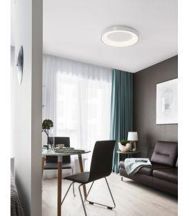 30W LED Lubinis šviestuvas LAND Silver Ø38 Dimeriuojamas 9353834