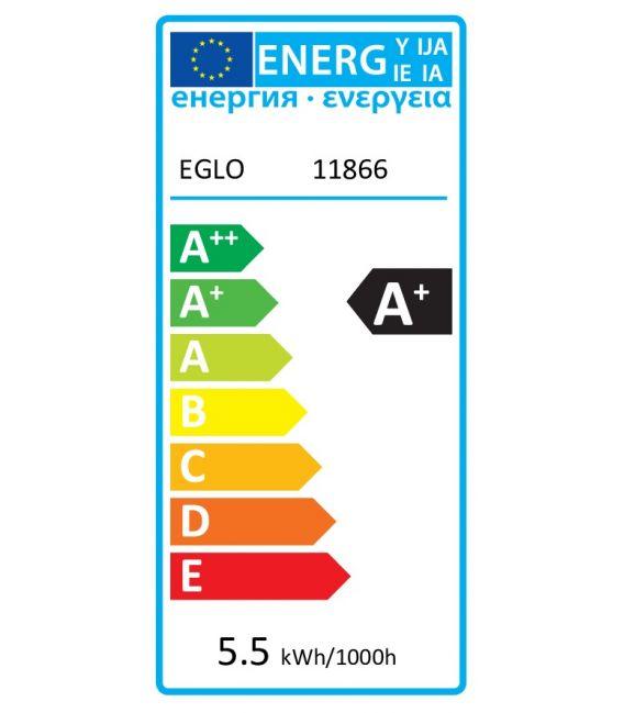 LED LEMPA 5.5W E27 EGLO CONNECT Ø9.5 DIMERIUOJAMA 11866