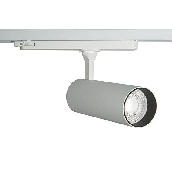 30W LED Šviestuvas bėgeliui SUPER SLIM 3F 3000K LC064-FW YLD-027262