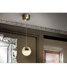 4.8W LED Pakabinamas šviestuvas SPHERE Ø12 Brass 793429