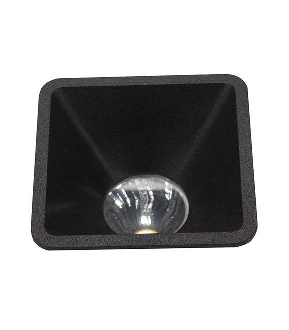 Įmontuojamas šviestuvas AROS Black NC2152SQ YLD-022632