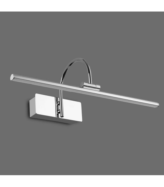 8W LED Sieninis šviestuvas PARACURU Chrome 6380