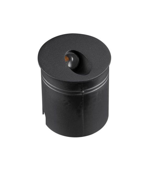 3W LED Įmontuojamas šviestuvas ASPEN Black 7022