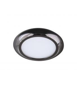 4W LED Įmontuojama panelė LC1444 Black IP44 Ø8 YLD-017546