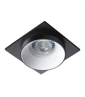 Įmontuojamas šviestuvas SIMEN DSL Black/White 29131