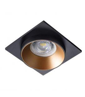 Įmontuojamas šviestuvas SIMEN DSL Black/Gold 29134