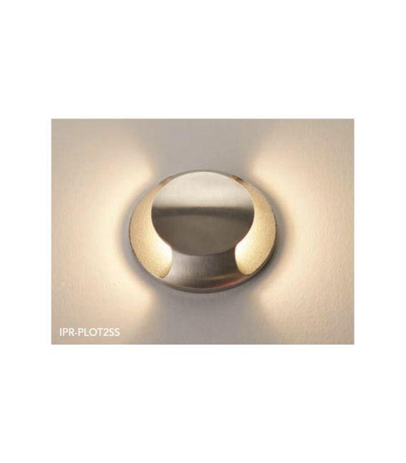 3W LED Įmontuojamas šviestuvas PLOT 1 IP67 IPR-PLOT2SS