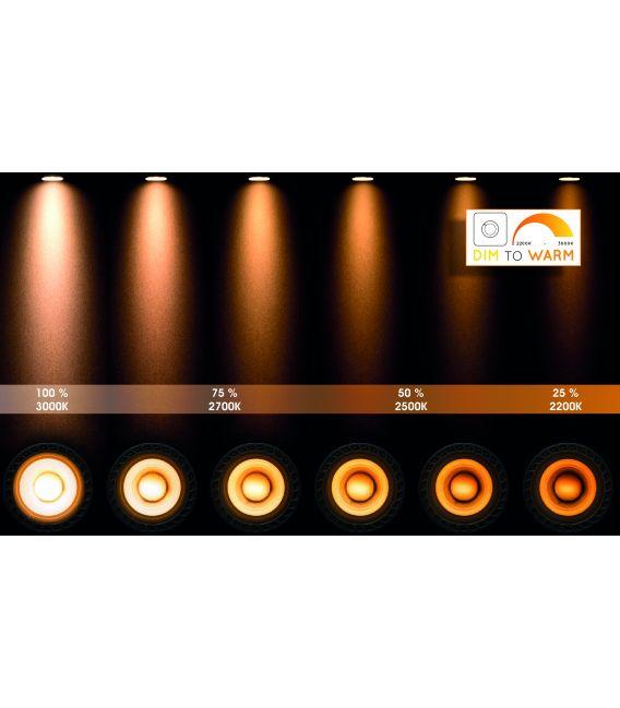 Lubinis šviestuvas XYRUS 6 Black Dimeriuojamas 23954/31/30