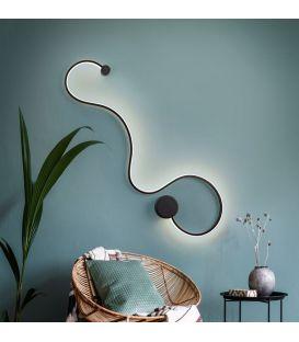 19.5W LED Sieninis šviestuvas GRAFOS Black 227018