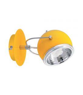 Sieninis šviestuvas BALL Yellow 2686103