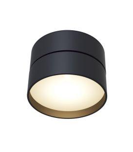 18W LED Lubinis šviestuvas ONDA Black C024CL-L18B