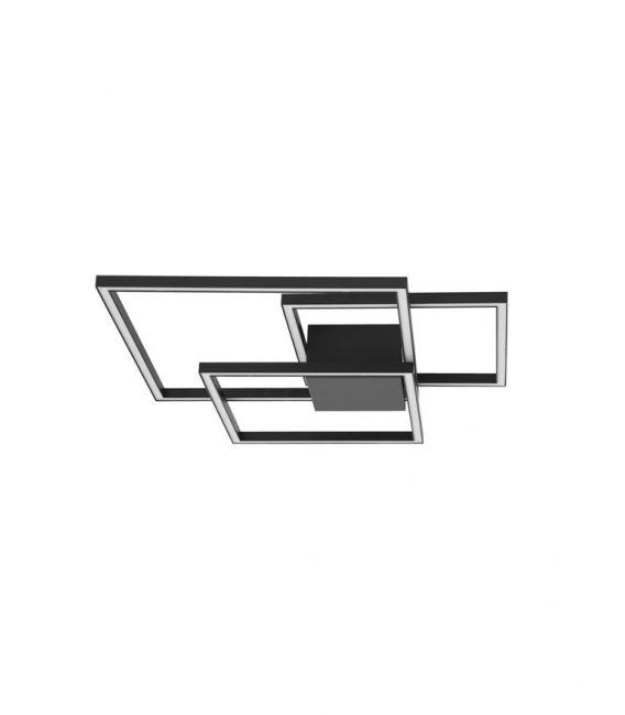 42W LED Lubinis šviestuvas BILBAO Black 9500832