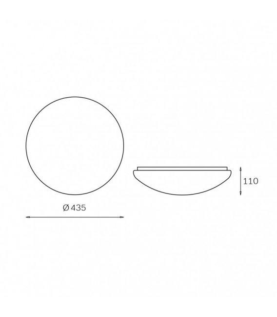 Lubinis šviestuvas JASMINA Ø43,5cm