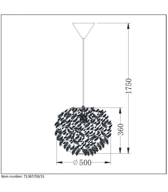 Pakabinamas šviestuvas GOOSY SOFT 71367/50/31
