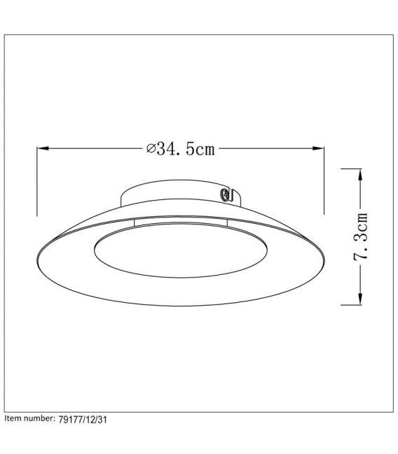 Lubinis šviestuvas FOSKAL LED Ø34,5 White 79177/12/31