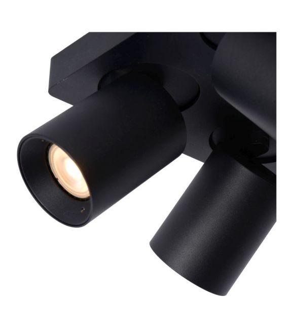Lubinis šviestuvas NIGEL 4 Black Dimeriuojamas 09929/20/30