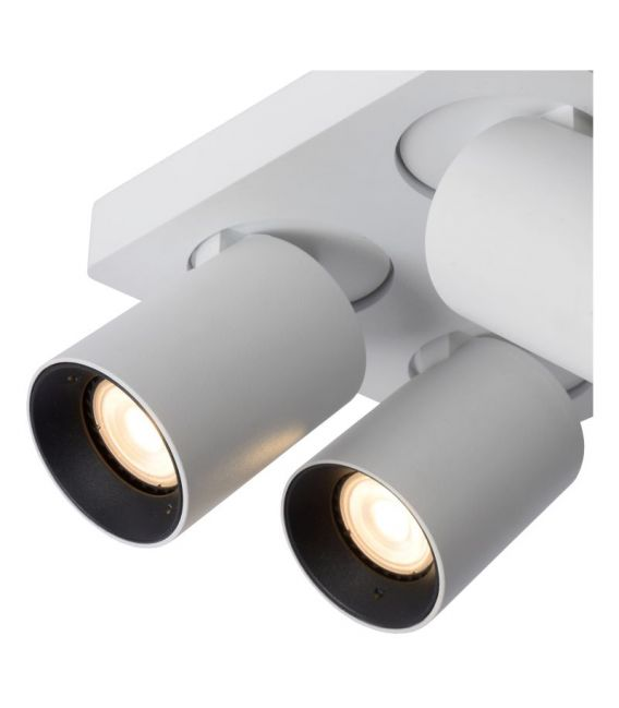Lubinis šviestuvas NIGEL 4 White Dimeriuojamas 09929/20/31