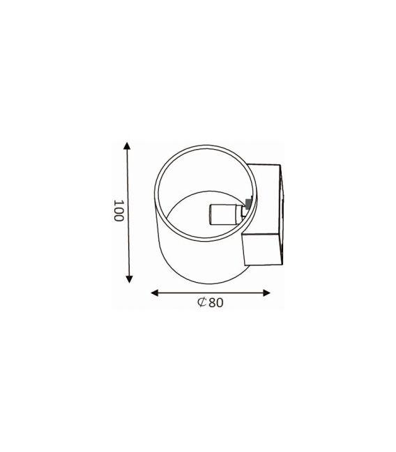 Sieninis šviestuvas XERA 23252/01/30