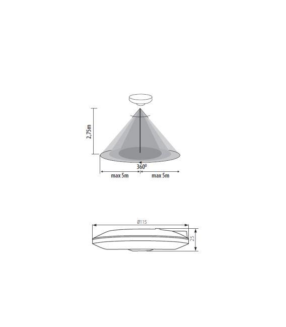 Judesio daviklis ZONA FLAT-W 23452