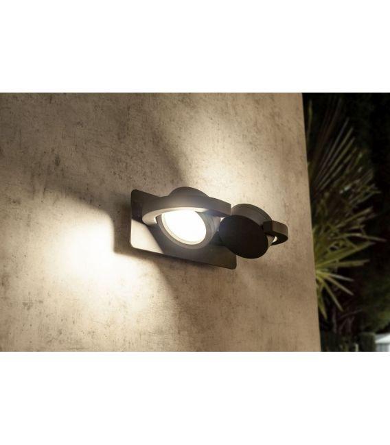 Sieninis šviestuvas IGUAZU 2 Dark Grey IP54 6769