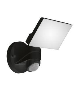 13W LED Šviestuvas su judesio davikliu PAGINO Black IP44 98178