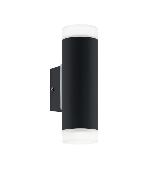 Sieninis šviestuvas RIGA Black IP44 96505
