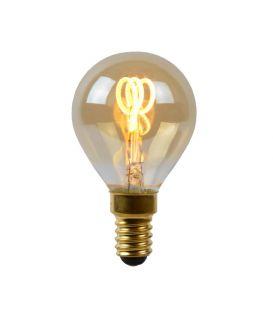 LED LEMPA 3W E14 Dimeriuojama Amber Ø4.5 49046/03/62