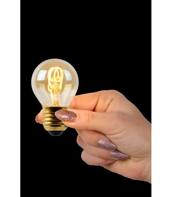 LED LEMPA 3W E27 Dimeriuojama Amber Ø4.5 49045/03/62