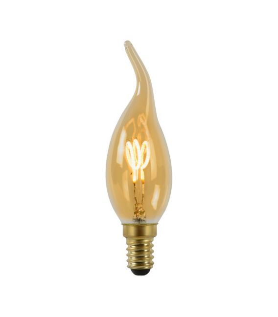 LED LEMPA 3W E14 Dimeriuojama Amber 49036/03/62