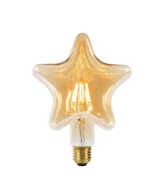 LED LEMPA 6W E27 Amber 80102/06/62