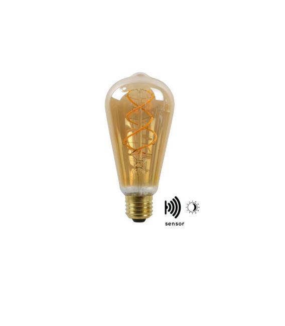 LED LEMPA Sensorinė 4W E27 Amber 49034/04/62