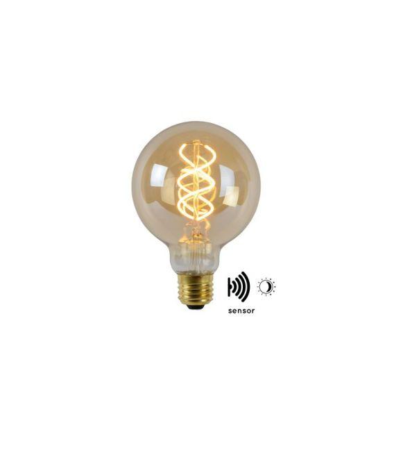 LED LEMPA Sensorinė 4W E27 Amber 49032/04/62