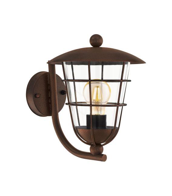 Sieninis šviestuvas PULFERO Brown IP44 94854