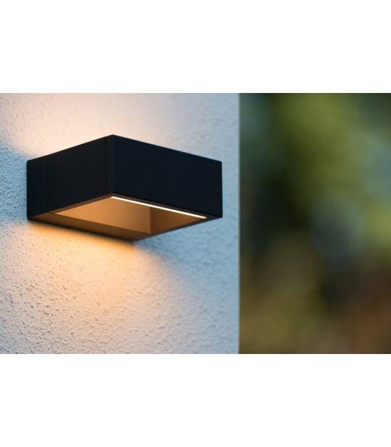 Sieninis šviestuvas GOA LED Black IP54 28857/06/30